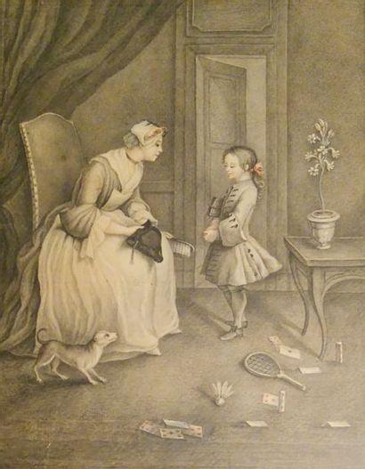 Anonyme, dans le goût du XVIIIème siècle...