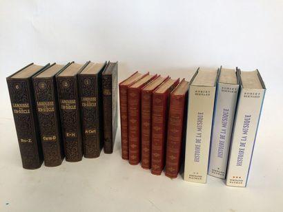 Lot de livres :  - Larousse du Xxe et Le...