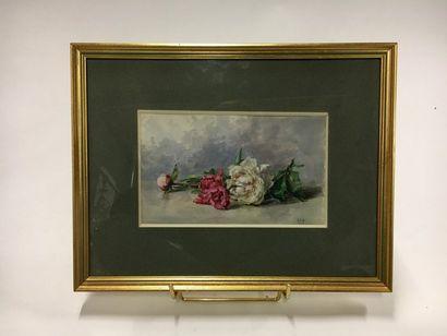 Jean DE COSSÉ-BRISSAC (XIX-XX)  Bouquet de...