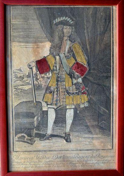 Monsieur le Duc d' Orléans, Régent du Royaume....