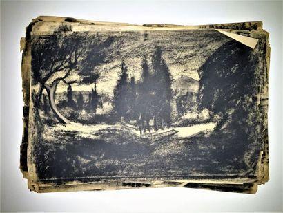 Auguste DURAND-ROSÉ (1887-1962)  Série de...