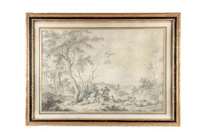 Jean-François LE GILLON 1739-1797  La halte...