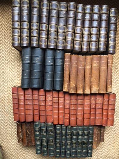 Lot de livres Valters Catt Sainte Beuve Voltaire...