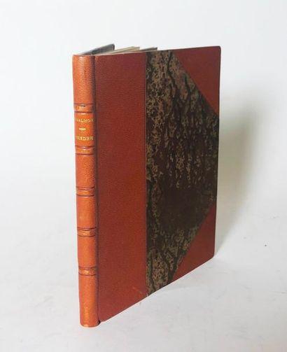 SALMON (André) & PICASSO. Peindre. Paris, Editions de la Sirène, 1921.  In-8 ½ chagr....