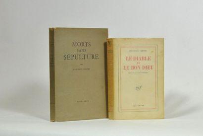 SARTRE (Jean-Paul). Le Diable et le Bon Dieu. Trois actes et onze tableaux. Paris,...