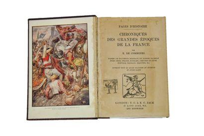 COMMINES (Xavier de). Chroniques des grandes époques de la France. London, Jack,...