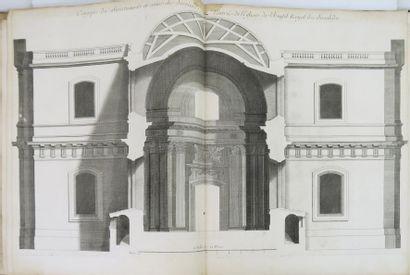 [LEPAUTRE (Pierre)]. [Eglise de l'hôtel royal des Invalides.] sl, sn, sd (c.1680)....