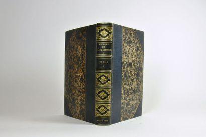MUSSET (Alfred de). Oeuvres complètes. Avec lettres inédites, variantes, notes,...