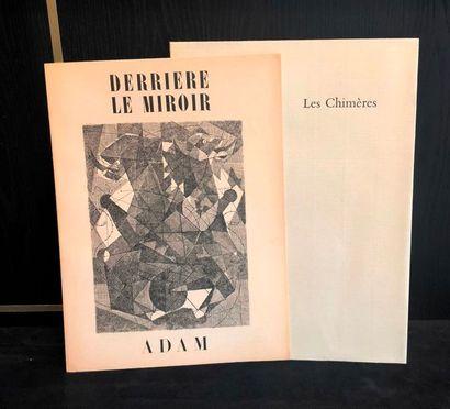 ADAM (Henri-Georges) & NERVAL (Gérard de). Les Chimères. Marseille, Eygalières,...