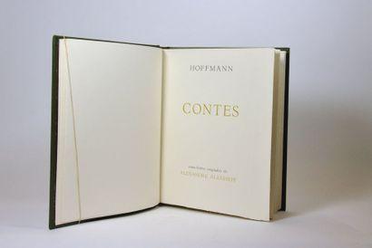 ALEXEIEFF (Alexandre) & HOFFMANN (Ernst Theodor Amadeus). Contes. Paris, Club du...