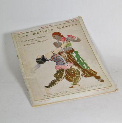 Ballets Russes. Programme officiel édité...