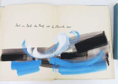 BATION (Eliette) & JACOB (Max). L'antique château. sl, sn, 1963.  In-folio en ff.,...