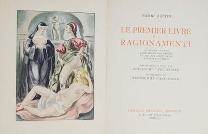 BERTHOMMÉ SAINT-ANDRÉ (Louis) & ARETIN. Le...