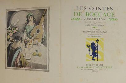 BRUNELLESCHI (Umberto) & BOCCACE (Giovanni)....