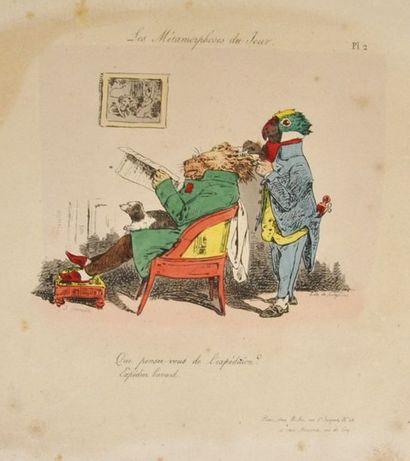 GRANDVILLE (Jean Ignace Isidore Gérard dit)....