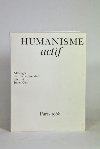 CHAGALL (Marc) & DUNOYER de SEGONZAC. Humanisme...