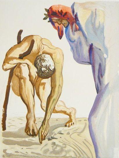 DALI (Salvador) & DANTE. La Divine Comédie....