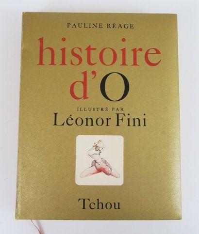 FINI (Léonor) & REAGE (Pauline). Histoire...