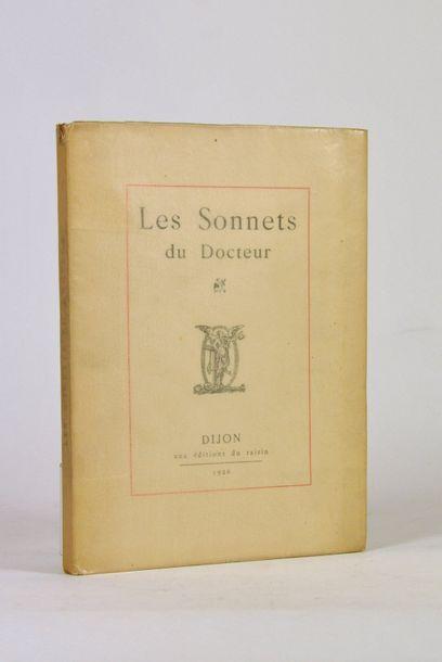 LABOUREUR (Jean Emile). Les Sonnets du Docteur....