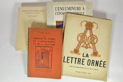 BLUM (André). Les Origines du papier, de...