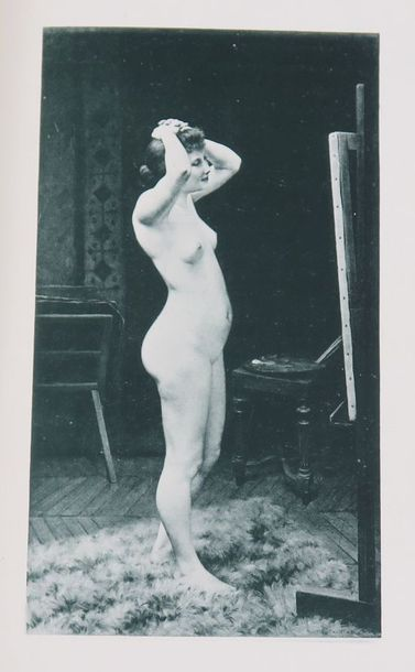 SILVESTRE (Armand). Le Nu au Salon de 1890....