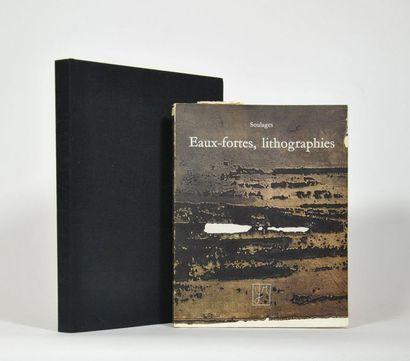 SOULAGES (Pierre). Catalogue d'exposition...