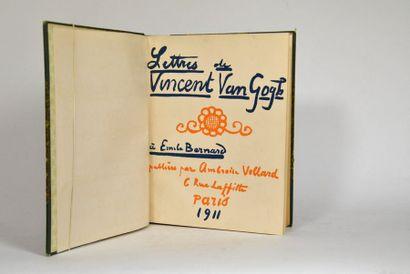 VAN GOGH (Vincent). Lettres à Emile BERNARD....