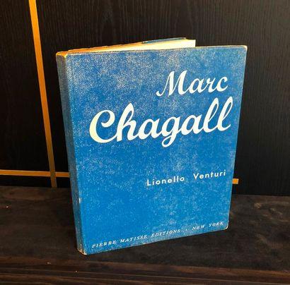 VENTURI (Lionello). Marc CHAGALL. New York,...