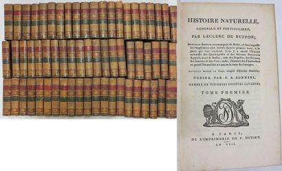 BUFFON (Georges Louis Leclerc, comte de)....
