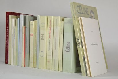[CELINE (Louis-Ferdinand)]. 24 vol. brochés,...