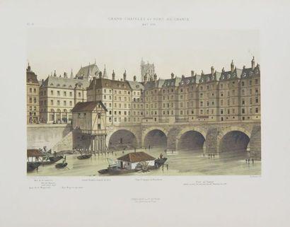 PARIS à travers les âges. Aspects successifs des monuments et quartiers historiques...