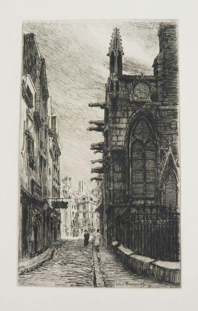 TOUSSAINT (Louis). Le Vieux Paris de St Severin...