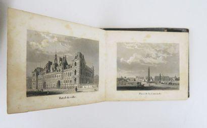 [Vues de Paris]. Album des principaux monuments...