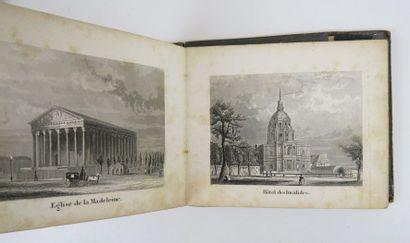 [Vues de Paris]. Album des principaux monuments de Paris. sl, sn, sd (c. 1850)....