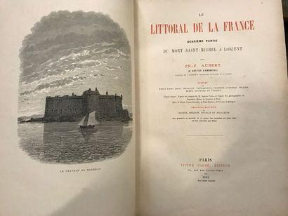 AUBERT (Ch., pseudonyme de Valentine VATTIER D'AMBROYSE). Le Littoral de la France....