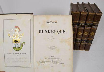 [Dunkerque]. Œuvres dunkerquoises. [Publiées, recueillies et mises en ordre par...