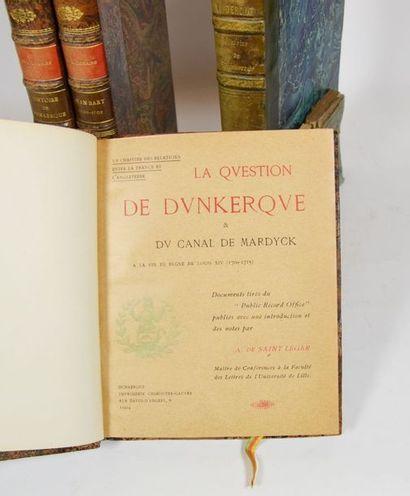 Dunkerque - LEMAIRE (Dr L.). Histoire de Dunkerque des origines à 1900. Dunkerque,...