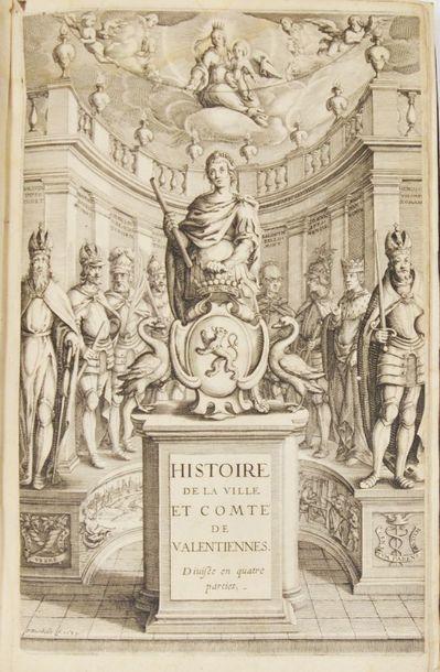 Nord - OUTREMAN (H.). Histoire de la ville et comté de Valentiennes. Divisée en...