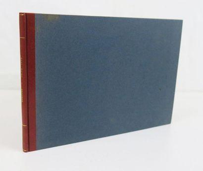 Gravures. Recueil de 13 gravures 1e moitié XVIIe s. contrecollées et réunies dans...