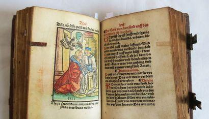 Livre de prières allemand. Die Sibe[n] Cürs...