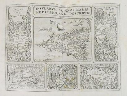 ORTELIUS (Abraham). Theatre de l'univers, contenant les cartes de tout le monde...