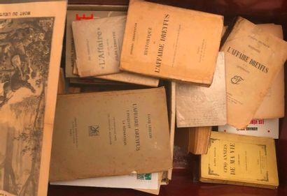 Affaire DREYFUS. Important ensemble de documents,...