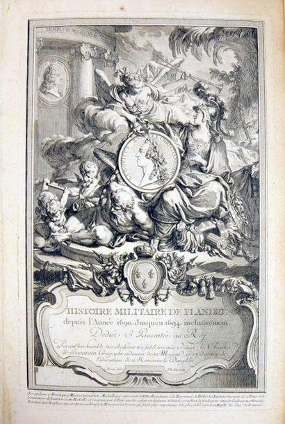 BEAURAIN (Jean de). Histoire militaire de...