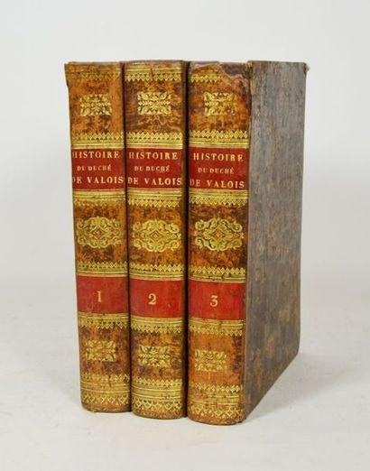 CARLIER (C.). Histoire du duché de Valois,...