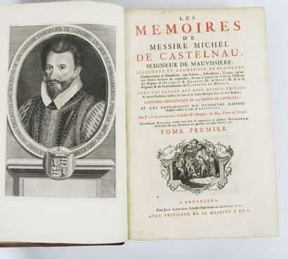 CASTELNAU (Michel de). Les Mémoires de Messire...