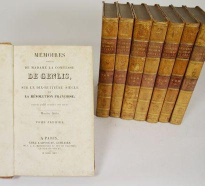 GENLIS (Stéphanie Félicité Ducrest de Saint-Albin,...