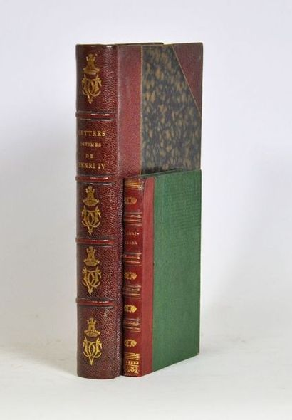 HENRI IV. Lettres intimes, avec une introduction...