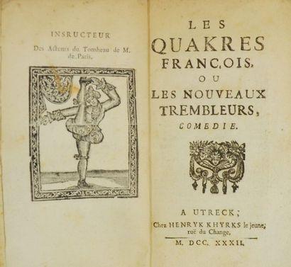 [Jansénisme - BOUGEANT (Guillaume-Hyacinthe)]....