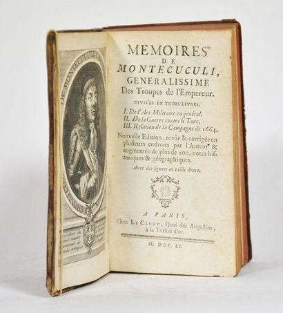 MONTECUCULI (Raymond, comte de). Mémoires...