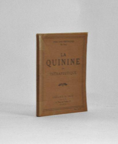 [CELINE (Louis-Ferdinand)]. La Quinine en...